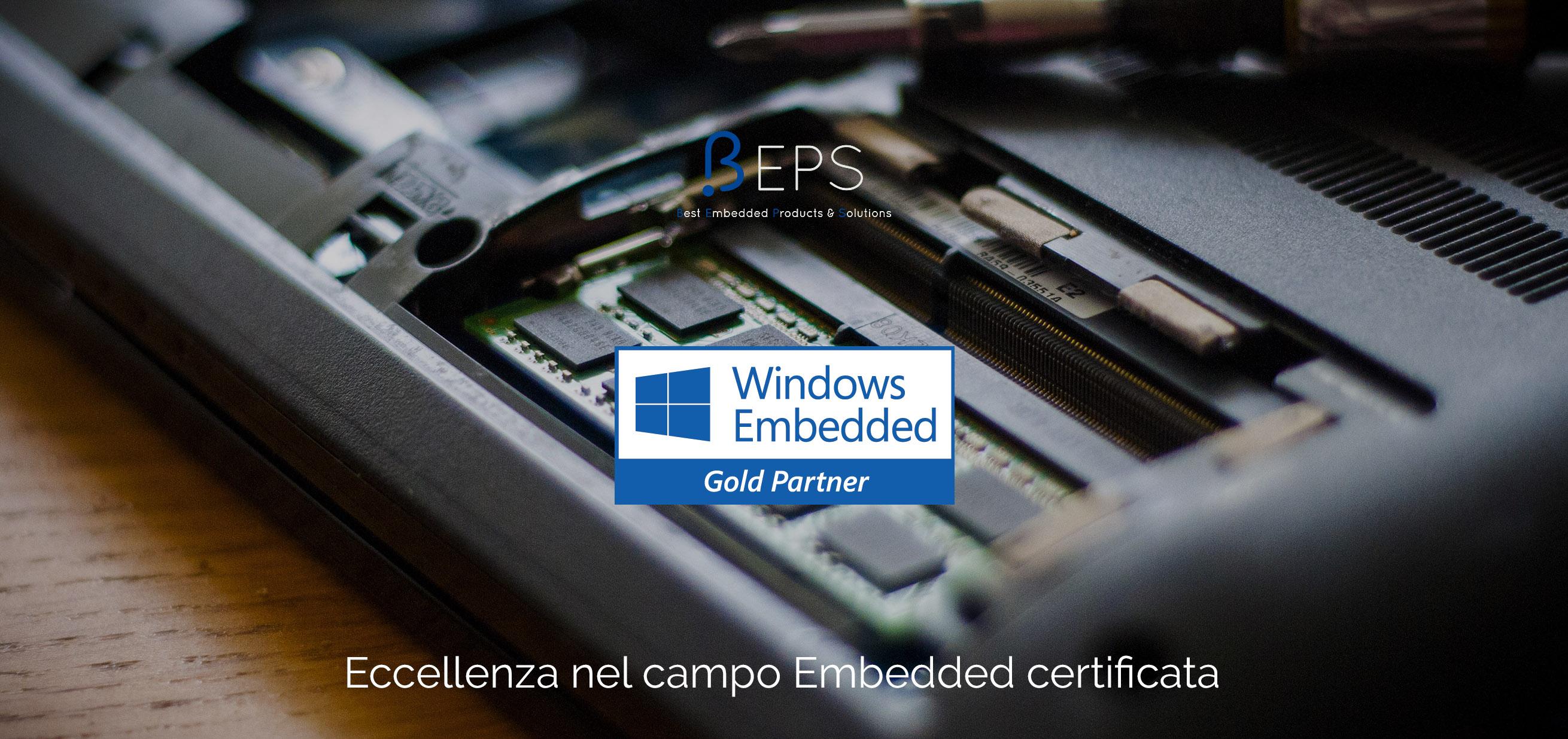 Beps Gold partner microsoft embedded iot
