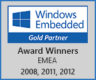 Microsoft Windows Embedded Gold Partner