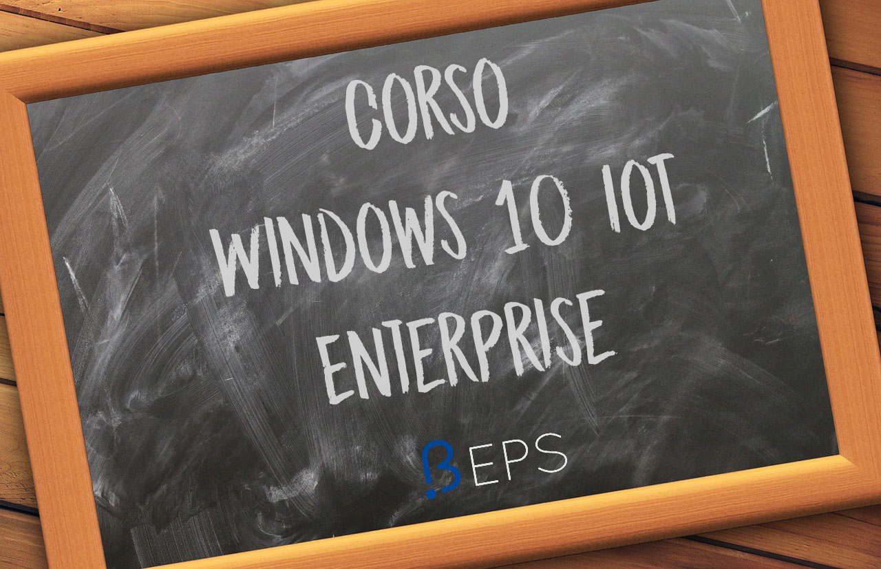 corso windows 10 iot enterprise