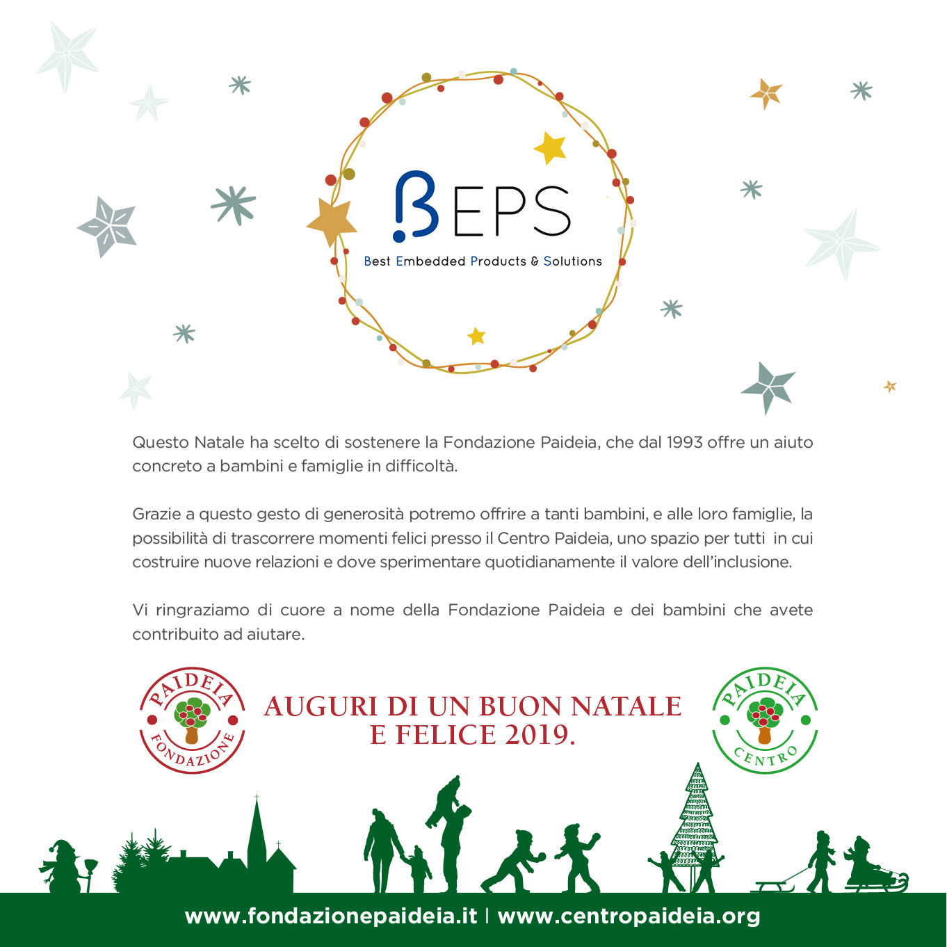 Beps Engineering IoT merry christmas buon natale